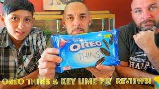 New Oreo Thins & Key Lime Pie Review!