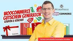 WooCommerce Gutschein Plugin Generator für Coupons & Vouchers mit individuellem Layout