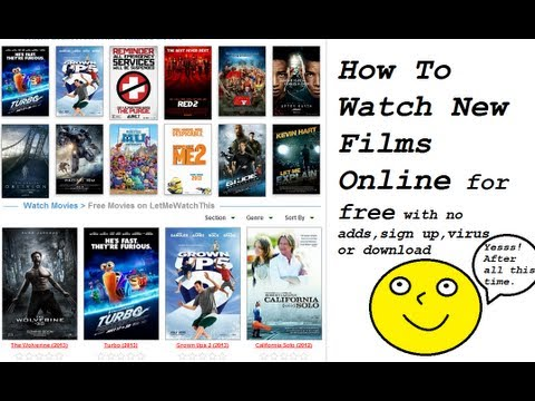 How To Watch New Movies For Free [No Download] [Virus Free] [No Adds] [No Sign Up]
