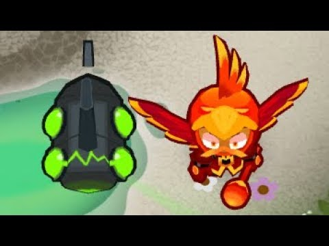 Bloons TD 6 - So Energizer + Wizard Lord Phoenix is Insane! ft. ISAB