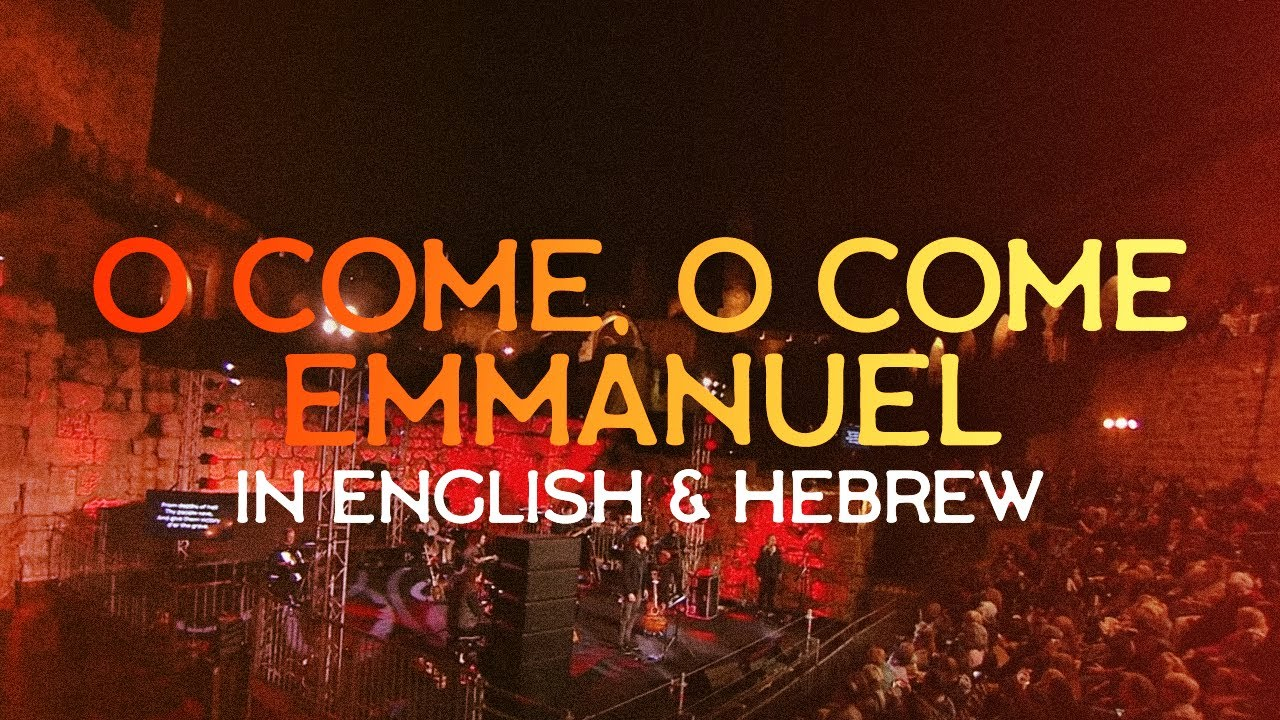 """O Come, O Come, Immanuel"" in English & Hebrew LIVE in Jerusalem! // David's Cita"