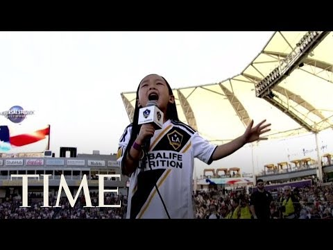 Gifted Seven-Year-Old Goes Viral For Demonstrating How The National Anthem Is Done | TIME