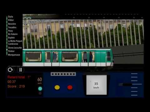 Paris metro simulator ligne 6