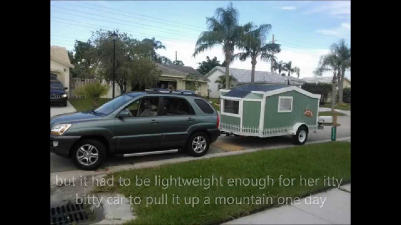 Tiny House Cargo Trailer Initial Build pre camper conversion