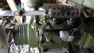 Генератор АБ-4, Зимовий пуск.
