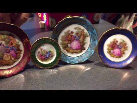 Limoges Porcelain Miniature Plates