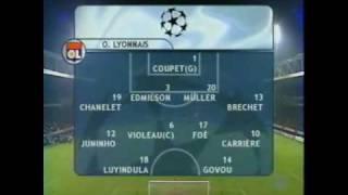 Olympique Lyonnais - FC Barcelone 2001-2002 (1ère partie)