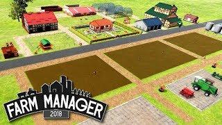 Praca na polach - Farm Manager 2018 | BETA #3