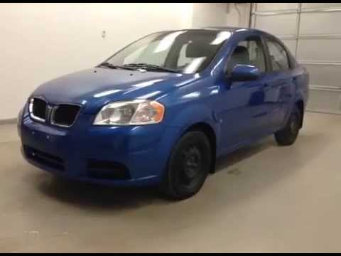 2009 Pontiac G3 Wave 4 Dooor Sedan for sale in Lethbridge Alberta