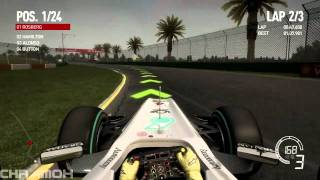 Formula 1 2010 VideoGame Gameplay ( PC HD )