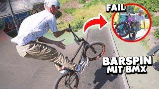 GEFÄHRLICHER neuer TRICK mit BMX 😱 (Barspin)