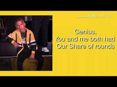 Cross your mind-Stan Genius lyric video