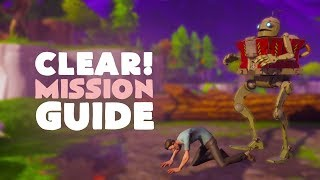 Clear! Mission Guide - Plankerton Medbots Quest | Fortnite (Save the World)
