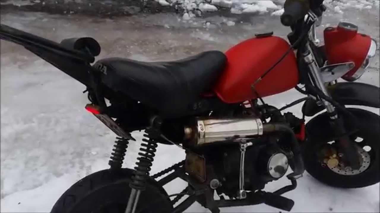 Honda Monkey 72cc Sounds Youtube