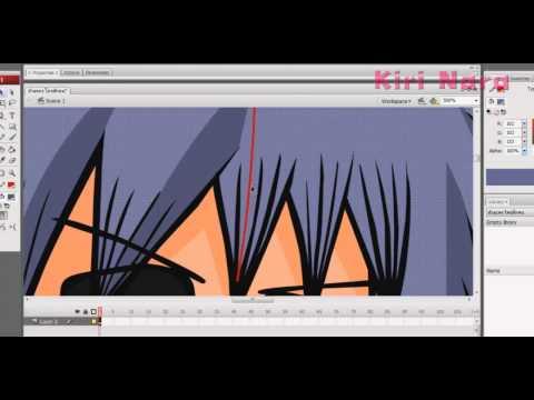 Flash CS3 Speed Paint - นักหมัดแว่นดำ
