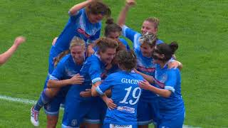 Brescia CF-Montpellier HSC 2-3 (ottavi finale UWCL 2017-2018)