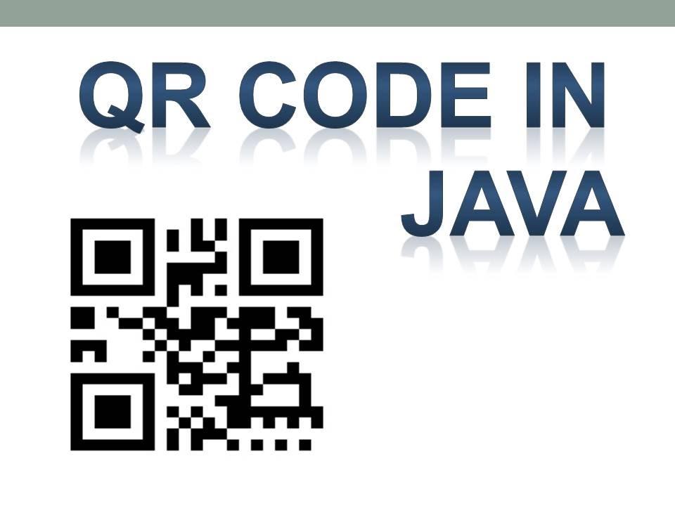 leitor de qr code java