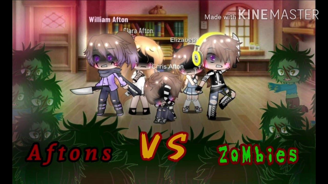 Download Afton family stuck in a house for 24 hours Vs ZOMBIES ft. Ennard+Glitchtrap Ep1 Afton Family Reunion