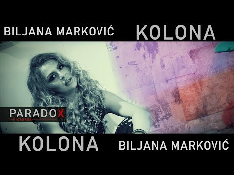 Biljana Markovic - Kolona ( 4K OFFICIAL VIDEO 2018 )