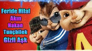 Feride Hilal Akın ft. Hakan Tunçbilek - Gizli Aşk - Alvin & Sincaplar