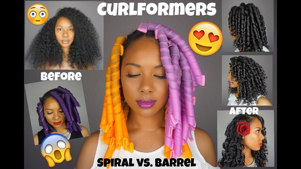 easy curlformers natural hair