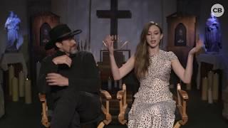 Demian Bichir and Taissa Farmiga Talk  'The Nun' thumbnail