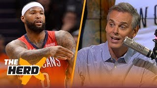 Colin Cowherd on Warriors signing Cousins and LeBron leaving Cleveland | NBA | THE HERD