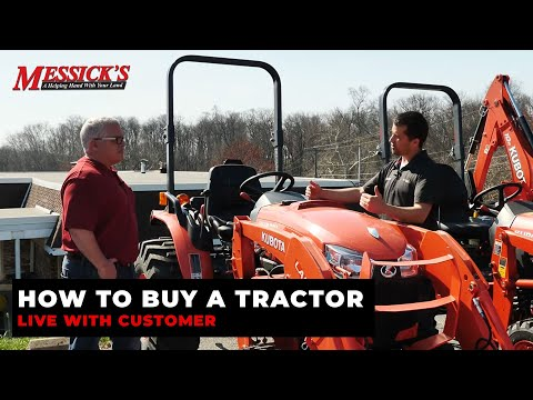 How to Buy a Tractor - *LIVE* with customer