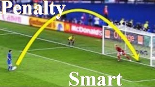 Top 10 funny smart penalty goals in football