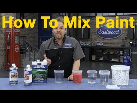 How To Mix Car Paint