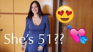 Dressing Up My Hot 51 Year Old Girlfriend!   Age-Gap Lesbian Couple