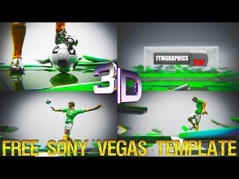 SOCCER BROADCAST INTRO - Sony Vegas Intro Template
