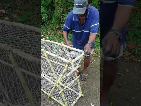 Granville Trinidad   Fish Pot Making