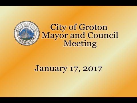 City of Groton Mayor & Council - 1/17/17
