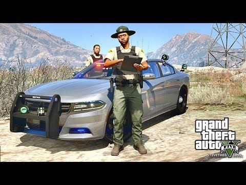 GTA 5 MODS LSPDFR 765 - SHERIFF PATROL !!! (GTA 5 REAL LIFE PC MOD)