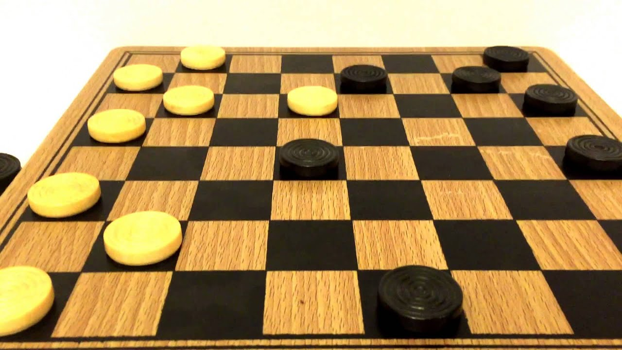 How to play checkers 72
