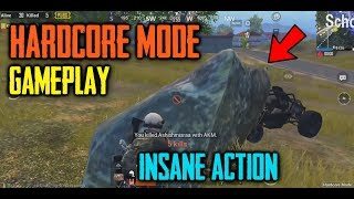 PUBG Mobile HARDCORE Mode Gameplay | Solo Vs Squad | PUBG Mobile Funny Moments | TIPS TRICKS