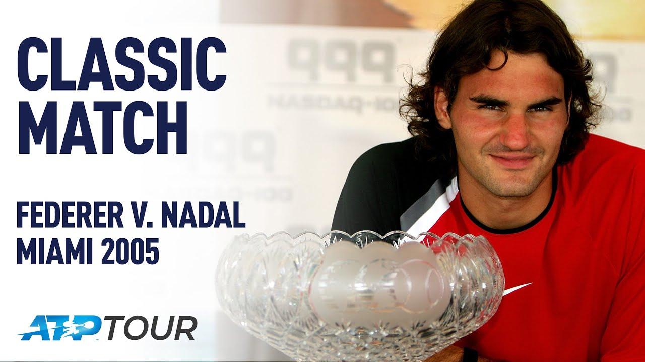 FEDERER V NADAL | 2005 MIAMI OPEN FINAL | ATP