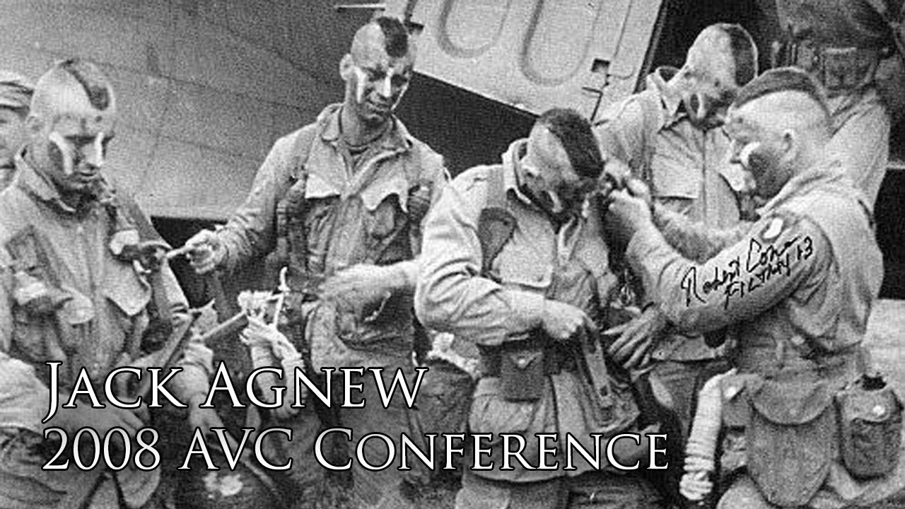 Jack Agnew's D-Day Jump (2008 AVC Conference)