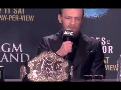 UFC 189 post-fight press conference