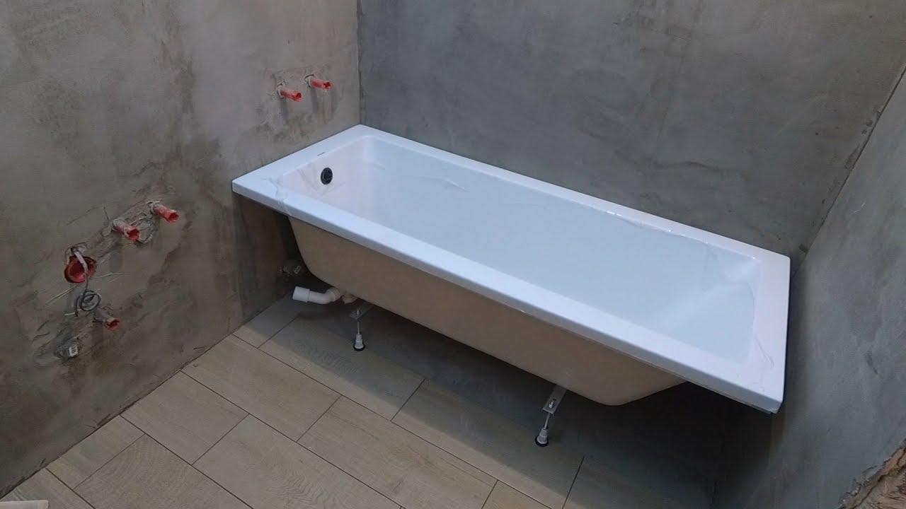 Установка ванной своими руками поэтапно фото 698