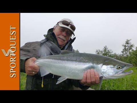 Non-stop Action Salmon Fly Fishing Alaska Episode 2