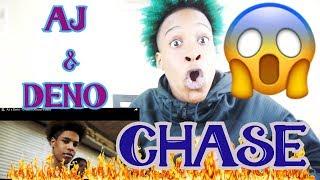 AJ x Deno - Chase (Official Video) REACTION | KINGTV VLOGS