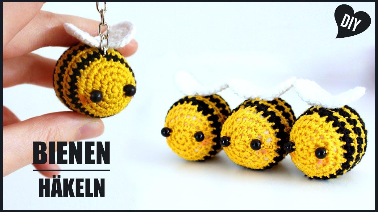 Biene Häkeln Tiere Häkelanleitung Amigurumi Diy By
