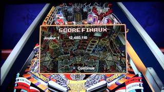 Test cool Williams Pinball Classics PS3