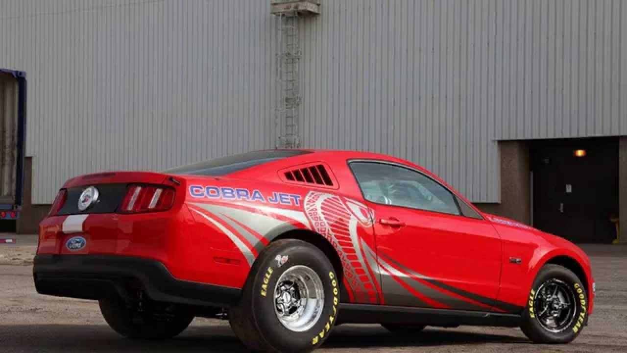 2012 Ford Mustang Cobra Jet - YouTube