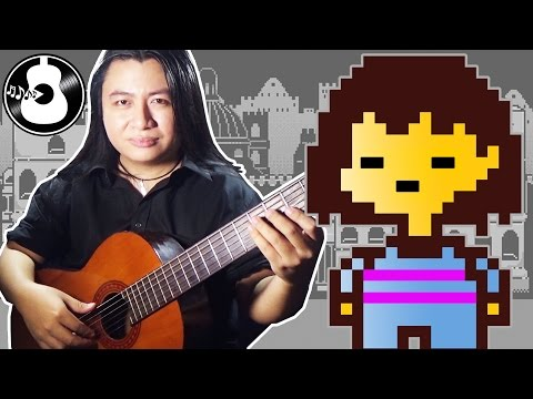 Undertale - Undertale/His Theme/New Home (Guitar & Violin Cover/Remix) || String Player Gamer