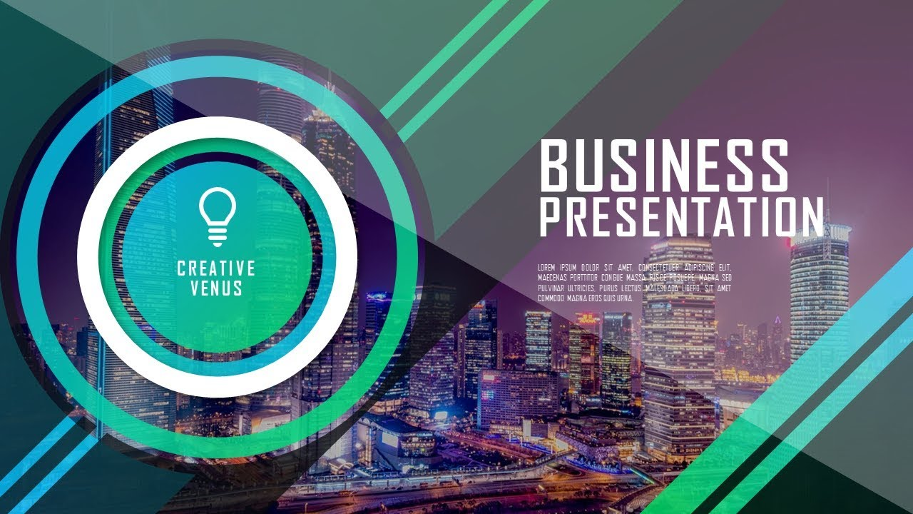 how to design super creative professional business presentation in