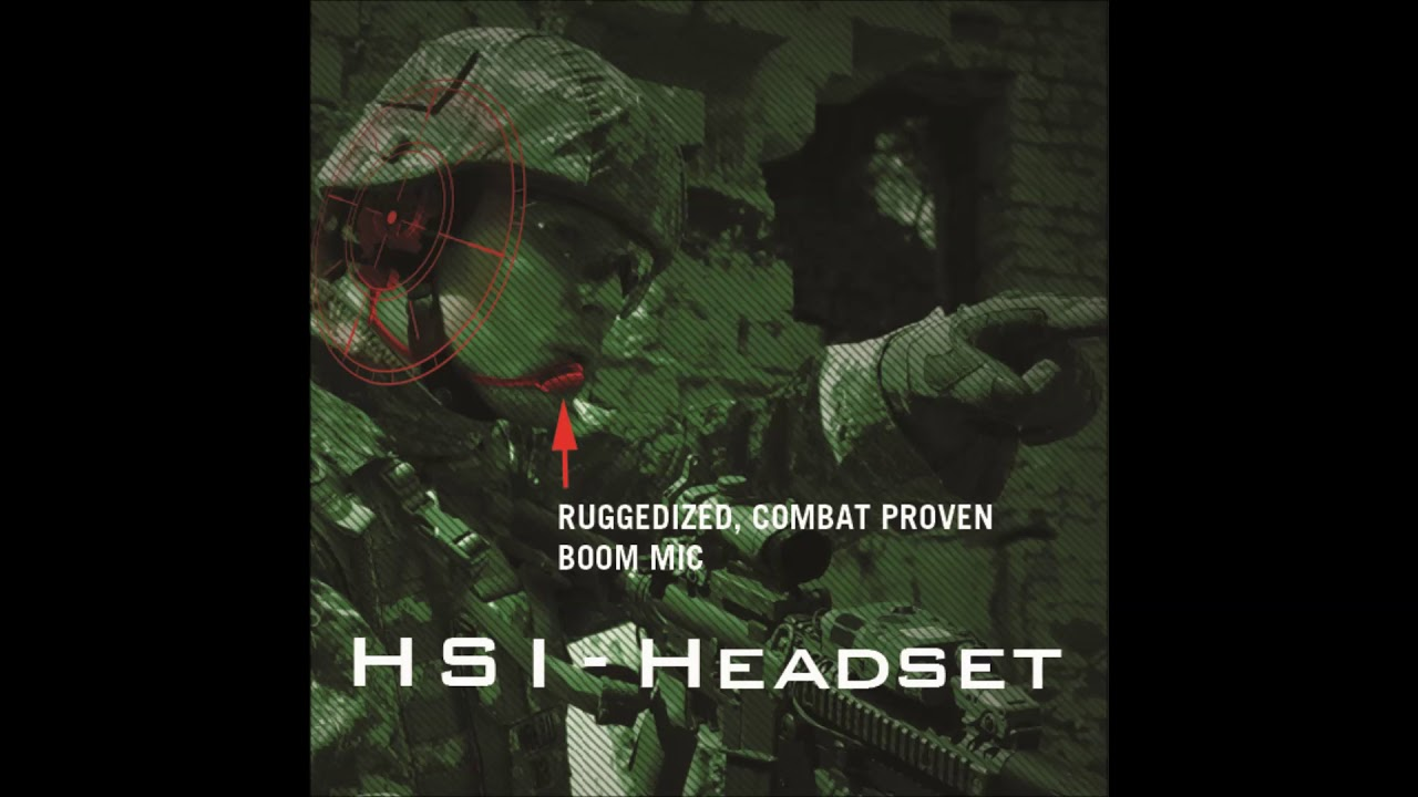 HSI Headset Features