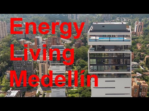 Energy Living Medellin Colombia - Drone